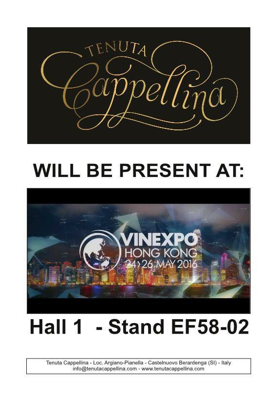 Tenuta Cappellina at the VINEXPO Hong Kong