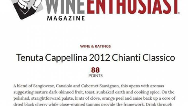 Wine Enthusiast Magazine Review